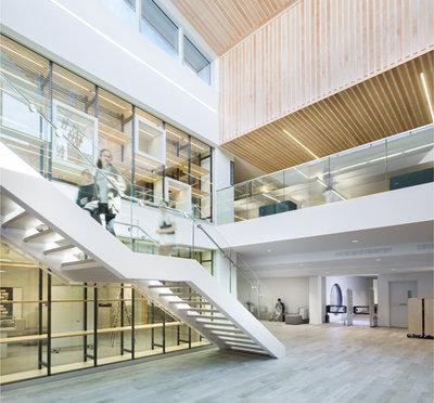 Biblioth que c gep garneau banque d 39 images d 39 architecture for Design d interieur cegep garneau
