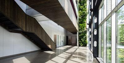 Maison du d veloppement durable interior photos architecture stock photos - Maison du developpement durable ...