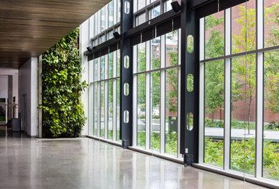 Maison du d veloppement durable photos int rieures banque d 39 images d 39 architecture - Maison du developpement durable ...